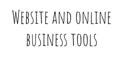 Website and Online Business Tools